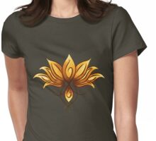 Bright lotus Womens Fitted T-Shirt