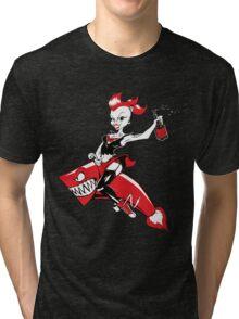 Rocket Girl! Tri-blend T-Shirt