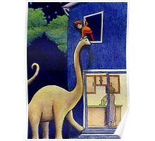 The Great Escape! (At Night via Brontosaurus) Poster