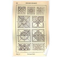 A Handbook Of Ornament With Three Hundred Plates Franz Sales Meyer 1896 0268 Enclosed Ornament Square Panel Poster