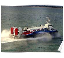 Hovercraft Ferry Poster
