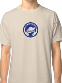 Animal Assisted Activities  - THERAPY DOG logo 1 blue Classic T-Shirt