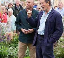 Monty Don RHS Tatton Parks Gdns by Keith Larby