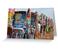 Cadillac Ranch 3 Greeting Card