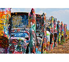 Cadillac Ranch 3 Photographic Print