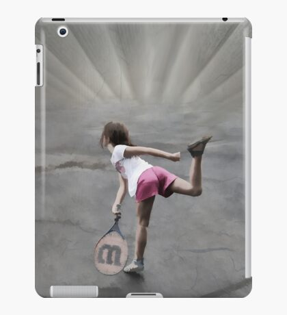 Against the Net iPad Case/Skin