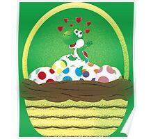 Yoshi's Gift Basket Poster