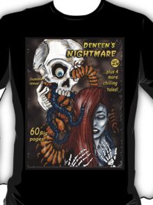 """Deneen""sNightmare (pulp horror cover)"" T-Shirt"