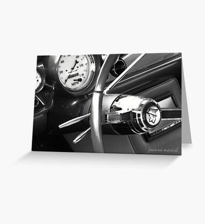 Classic Car 144 Greeting Card