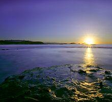 sunrise in the sea by ser-y-star