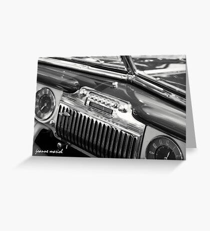 Classic Car 145 Greeting Card