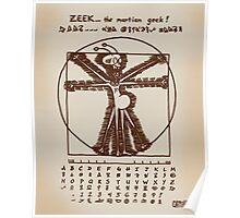 ZEEK the Martian geek ... aka Cattapan's Martian Poster