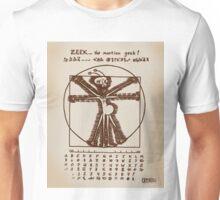 ZEEK the Martian geek ... aka Cattapan's Martian Unisex T-Shirt