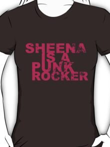Punk Rockers T Shirts, Stickers and Gifts T-Shirt