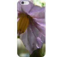 aubergine flower iPhone Case/Skin