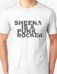 Punk Rockers T Shirts, Stickers and Gifts - Black Fone T-Shirt