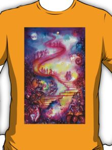 GARDEN OF THE LOST SHADOWS / MYSTIC STAIRS  T-Shirt