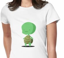 Baby turtle Womens Fitted T-Shirt