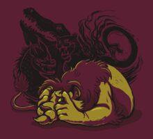 The Lion Sleeps (Poorly) Tonight by Kari Fry