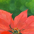 poinsettia by Leeanne Middleton