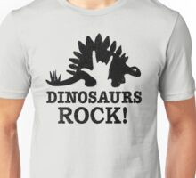 Dinosaurs Rock! Unisex T-Shirt