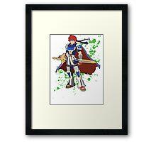 Roy - Super Smash Bros Framed Print