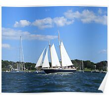 Tall ship photography Poster