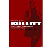 Bullitt - Movie Poster Photographic Print