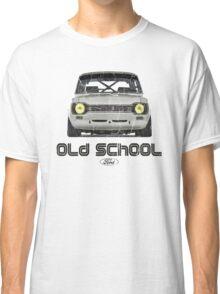 Classic Ford Escort MK1 Old School Distressed T-Shirt Classic T-Shirt