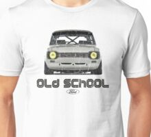 Classic Ford Escort MK1 Old School Distressed T-Shirt Unisex T-Shirt
