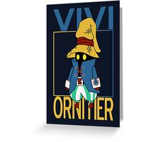 Vivi Ornitier v2 Greeting Card