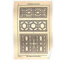 A Handbook Of Ornament With Three Hundred Plates Franz Sales Meyer 1896 0040 Geometrical Elements Oblong Subdivision Poster