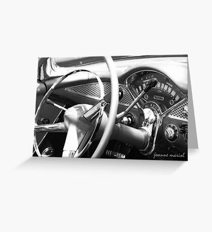 Classic Car 146 Greeting Card