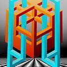 Optical Illusion by Sandra Bauser Digital Art