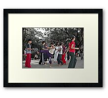 Quezon Memorial Circle activity: taekwondo 15 Framed Print