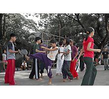 Quezon Memorial Circle activity: taekwondo 15 Photographic Print