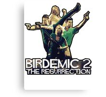 BIRDEMIC Canvas Print