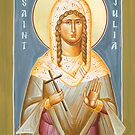 St Julia of Carthage by ikonographics