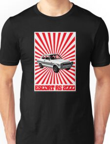 RS 2000 Ford Escort Classic Car  Unisex T-Shirt