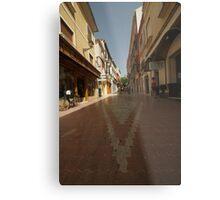 Denia, Spain Streetscape Metal Print