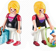mother only two playmobil by odisha