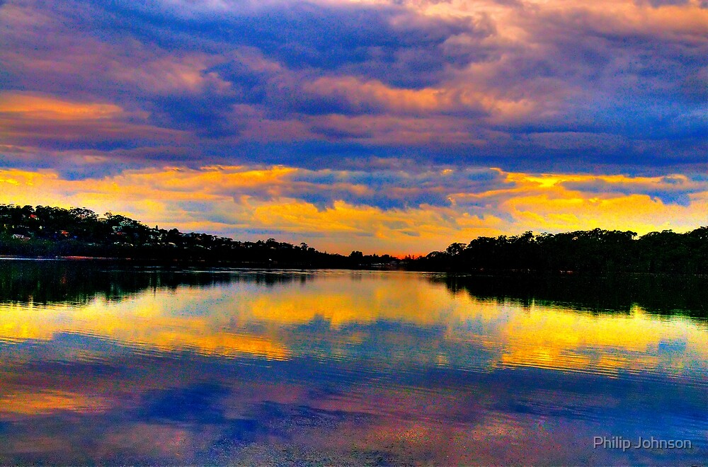 Psychedelic Dreaming  - Narrabeen Lakes Sydney - THe HDR Experience by Philip Johnson