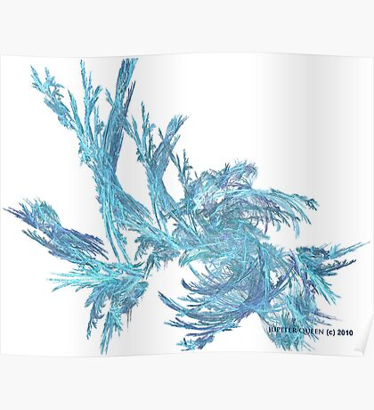 ICE FLOWERS Poster