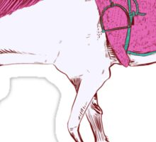 Unicorn on a Skateboard Sticker
