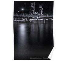 Clyde River Bridge Poster
