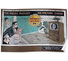 Old Wall Mural Poster