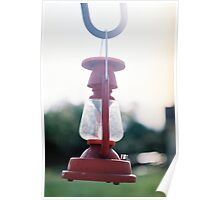 Decorative lantern in Rose Hill Poster
