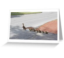 The Crossing Greeting Card