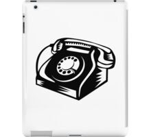 Telephone Vintage Woodcut iPad Case/Skin