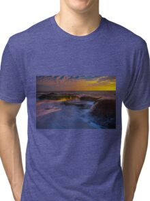 Sunset Spill Tri-blend T-Shirt
